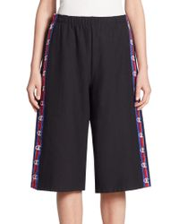 Vetements - X Champion Striped Athletic Shorts - Lyst