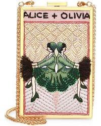 Alice + Olivia - Sophia Vintage Twins Clutch - Lyst