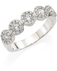 Hearts On Fire - 18k White Gold & Diamond Ring - Lyst