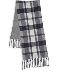Saks Fifth Avenue Wool & Cashmere Scarf - Blue