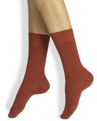 Ilux - Nu-novola Bread & Butter Cashmere Ankle Socks - Lyst