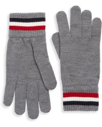 Moncler - Logo Patch Gloves - Lyst