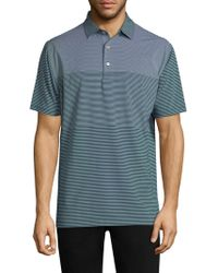 Peter Millar - Bickett Engineered Stripe Polo Shirt - Lyst