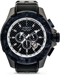 Kyboe - Alpha Series Noir Stainless Steel Strap Watch - Lyst