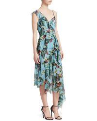 Nicholas - Mayflower One-shoulder Ruffle Dress - Lyst