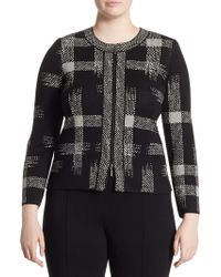 Stizzoli - Printed Front Zip Jacket - Lyst