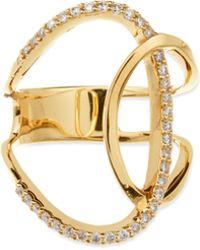 Lana Jewelry - Illuminating Diamond & 14k Yellow Gold Ring - Lyst