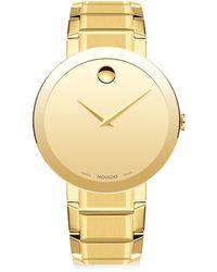 Movado - Sapphire Stainless Steel Bracelet Watch - Lyst