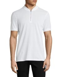 J.Lindeberg - Classic Cotton Jersey Top - Lyst