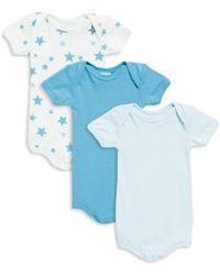 Petit Bateau - Baby's Three-piece Cotton Bodysuit Set - Lyst
