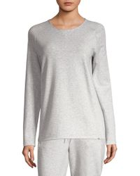 Hanro - French Terry Pullover - Lyst