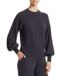 Saks Fifth Avenue - Collection Cashmere Blouson Sleeve Sweater - Lyst