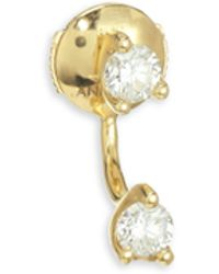 Anita Ko - 18k Gold & Diamond Orbit Earring - Lyst