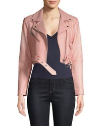 VEDA - Baby Jane Orion Biker Jacket - Lyst
