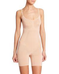Spanx - Oncore Mid-thigh Bodysuit - Lyst