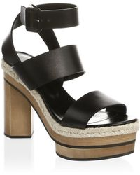Pierre Hardy - Deck Leather Ankle-strap Sandals - Lyst