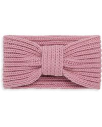 Portolano - Wool Knit Headband - Lyst