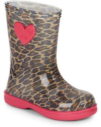 IGOR - Girl's Cheetah Patterned Rain Boots - Lyst