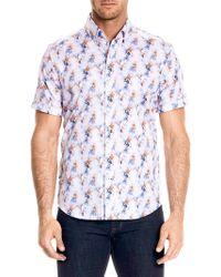 Robert Graham - Bodie Button-front Shirt - Lyst