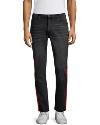 Ovadia And Sons - Slim Fit Stripe Jeans - Lyst