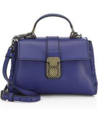 Bottega Veneta - Weave Top Handle Bag - Lyst