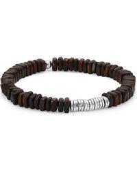 Tateossian | Silver Discs Bracelet | Lyst