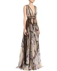 b20750659060 Zuhair Murad - Women's Marilyn Butterfly Maxi Dress - Butterfly Wave Pink -  Lyst
