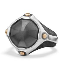 David Yurman - Anvil Signet Ring - Lyst
