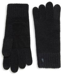 Polo Ralph Lauren - Cashmere Touch Gloves - Lyst
