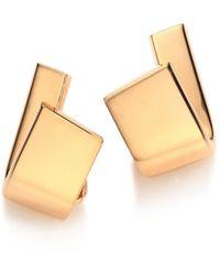 Vhernier - Diapason 18k Rose Gold Clip-on Earrings - Lyst