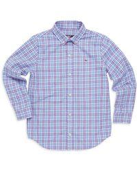 Vineyard Vines - Little Boy's & Boy's Morgan Flannel Shirt - Lyst