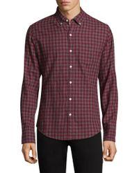 Bonobos - Plaid Cotton Button-down Shirt - Lyst