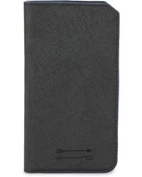 Uri Minkoff - Saffiano Leather Folio Iphone 7 Case - Lyst
