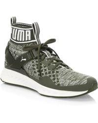 PUMA - Ignite Evoknit High-top Sneakers - Lyst
