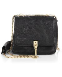 Elizabeth and James - Cynnie Mini Bubble-leather Double Shoulder Bag - Lyst