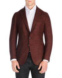 Isaia - Herringbone Sportcoat - Lyst