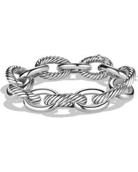 David Yurman - 'oval' Extra Large Link Bracelet - Lyst