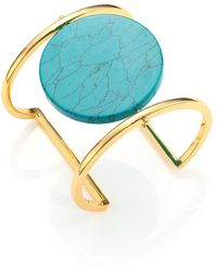 Nest | Disco Turquoise Cuff Bracelet | Lyst