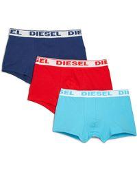DIESEL - Andre Cotton Boxer Briefs, 3-pack - Lyst