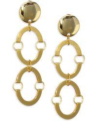 Lele Sadoughi | Golden Arch Earrings | Lyst