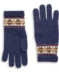 Ralph Lauren - Girl's Fair Isle Gloves - Lyst