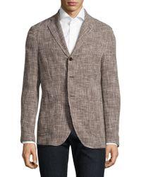 Eidos | Slim-fit Slub Basketweave Wool Unconstructed Sportcoat | Lyst