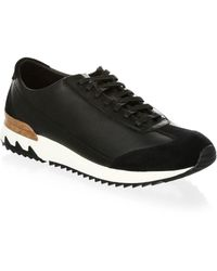 Onitsuka Tiger - Lace-up Leather Running Sneakers - Lyst