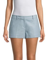 MICHAEL Michael Kors - Classic Mini Shorts - Lyst