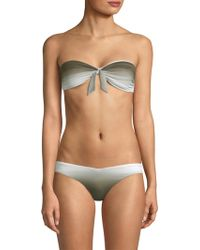 8a47768cd1bd0 Lyst - Wildfox Unicorn Moon Star Crop Bikini Top in Black