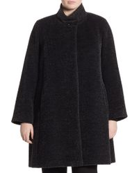 Cinzia Rocca - Single Button Princess Coat - Lyst
