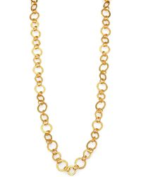 Stephanie Kantis - Regency 24k Goldplated Chain Necklace - Lyst