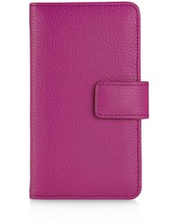 Graphic Image - Leather Iphone Wallet - Lyst