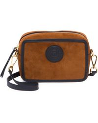 8fa1cf22db13 Fendi By The Way Mini Crossbody Bag in Brown - Lyst