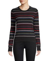Equipment - Shirley Striped Cashmere Sweater - Lyst